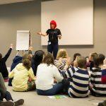 Be Remarkable Conference Girls at Workshop