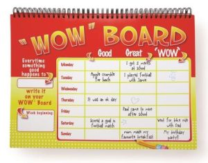 Wow Board detail - The Kids Coach