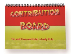 The Contribution Board - Helping families work as a team