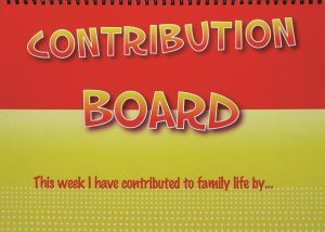 The Contribution Board - The Kids Coach Parenting Product