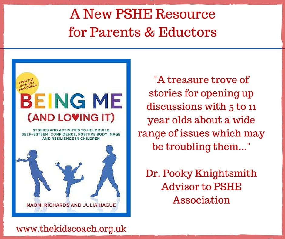 Being Me and Loving It Cover - PSHE Resource Recommendation - Dr Pooky Knightsmith