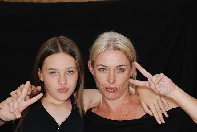 Teenage daughter & Mum
