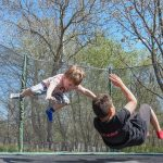 2 Boys on Trampoline