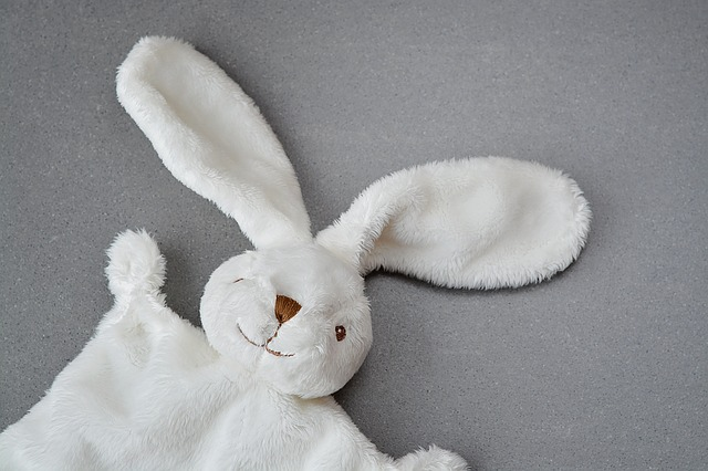 White Rabbit Security Blanket