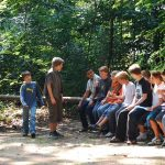 Teenage Boys Alone on Forest Trip
